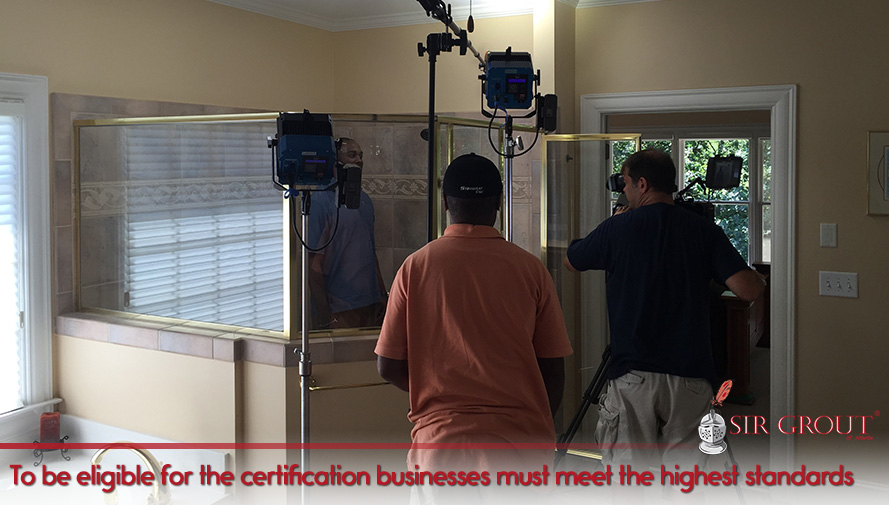 To be eligible for the certification businesses must meet the hihest standards