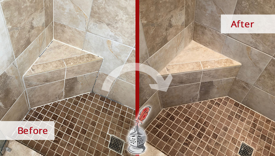 Our Caulking Services In Atlanta GA Recovered The Beauty Of This - Bathroom caulking service