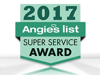 Angie's List Super Service Award 2017 for Sir Grout Atlanta