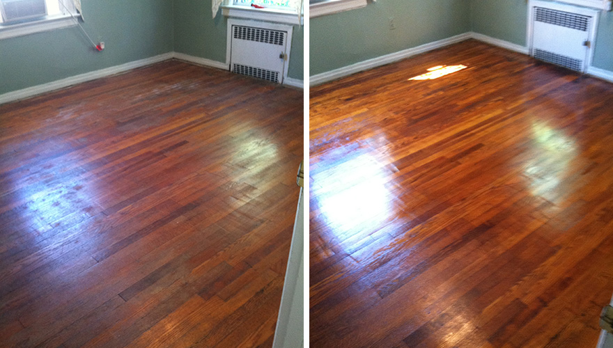 Before And After Wood Sir Grout Atlanta