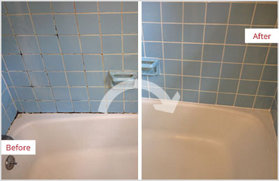 Bathroom Grout residential caulking - sir grout atlanta
