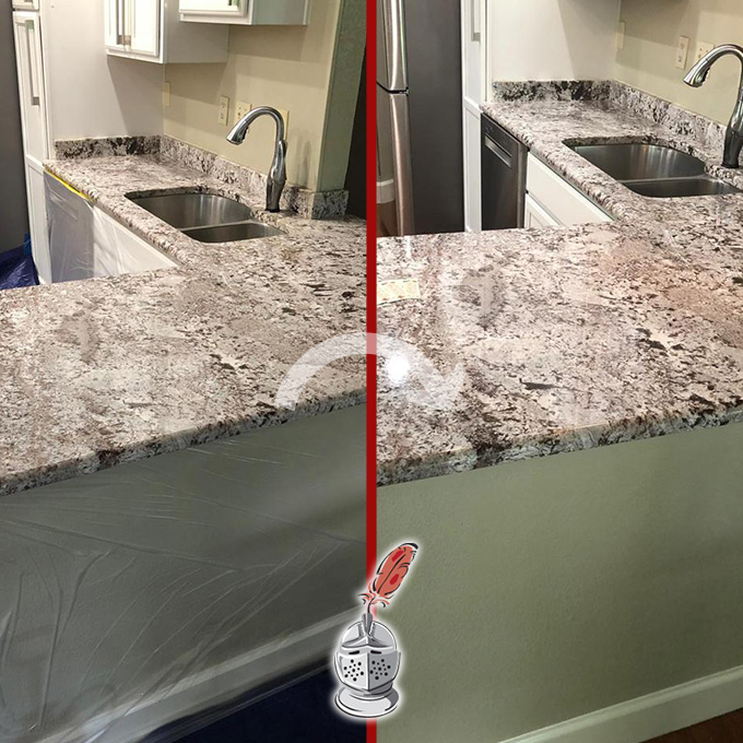 Countertop Granite Restoration