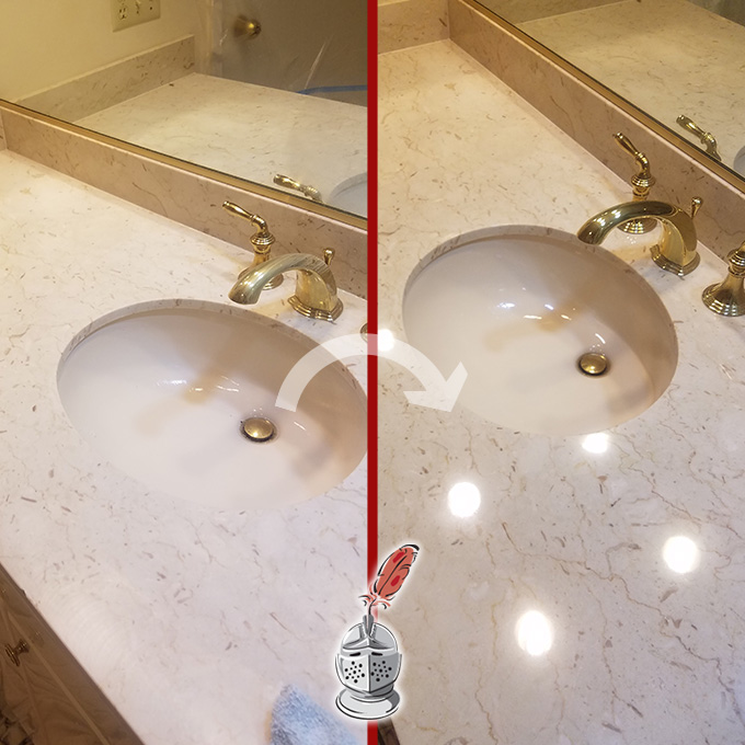 Marble Honing and Polishing Process
