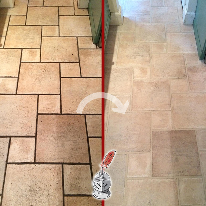 Travertine Cleaning and Sealing Service