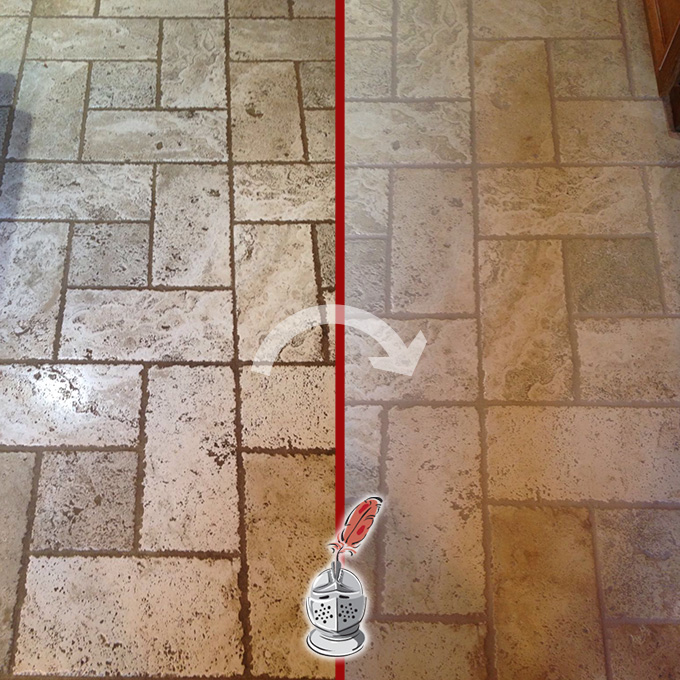 Travertine Cleaning and Sealing