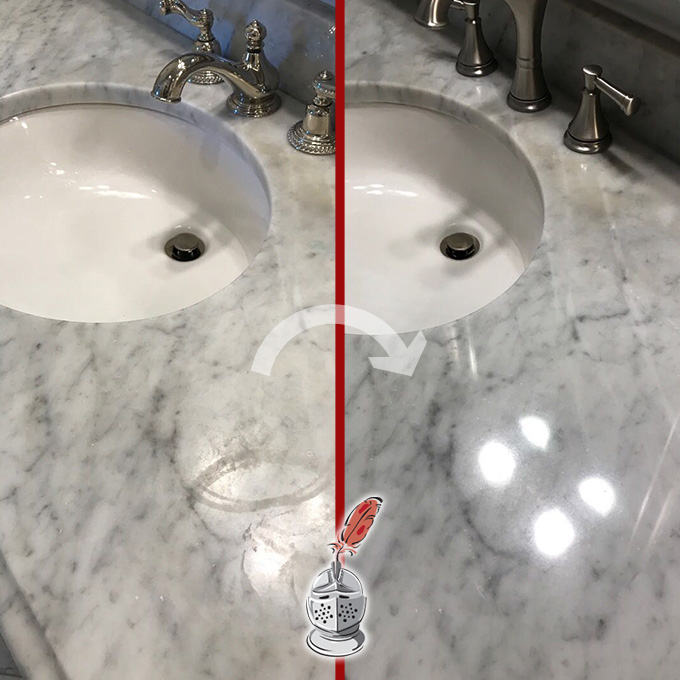 Countertop Etch Removal