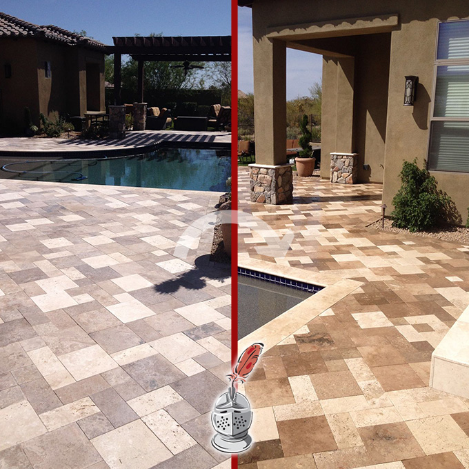 Stone Color Enhancement and Sealing