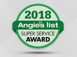Angie's List Super Service Award 2018 for Sir Grout Atlanta