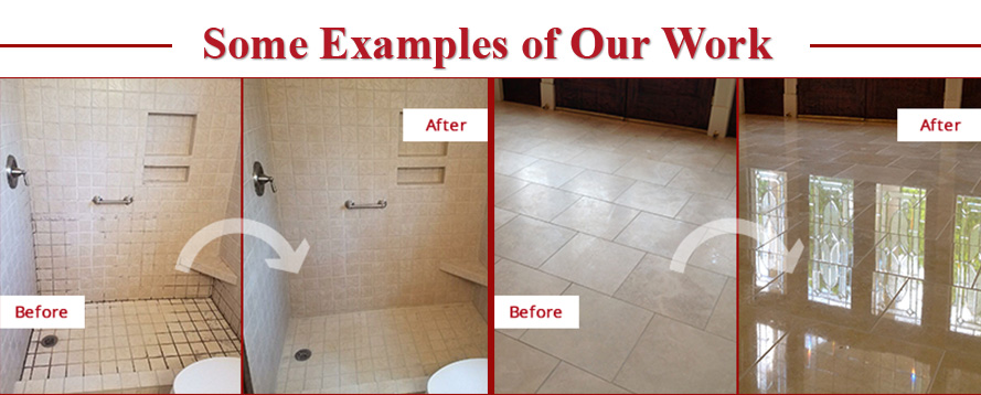 Before and After Pictures of Some Examples of Sir Grout Atlanta's Work