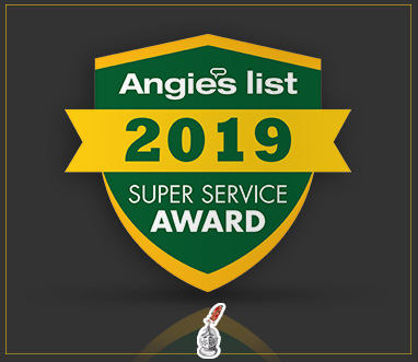 Angie's List Super Service Award 2019 for Sir Grout Atlanta