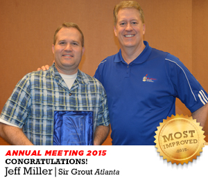 Tom Lindberg and Jeff Miller in the Annual Meeting 2015